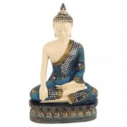 Statua Buddha in Rame 20 cm