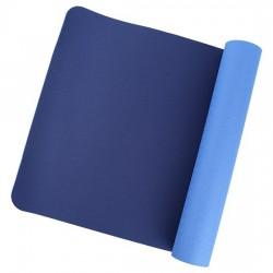 Tappetino per Yoga - Yoga & Yogini - in 100% TPE - blu/indaco
