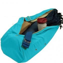 Borsa per tappetino yoga - color turchese