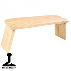 Folding Meditation Bench - made of ash wood