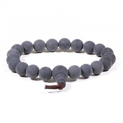 Sell Wood Tibetan Bracelet/Mala with crystal
