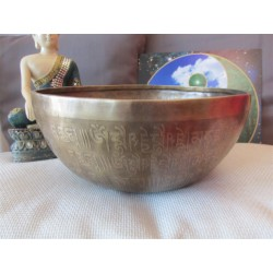 B058 Singing Bowl A2 113 HZ