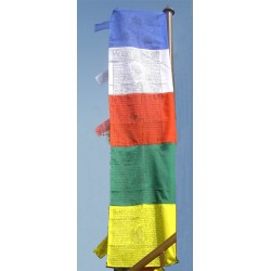 Vertical Small Tibetan Flags