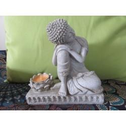 Statua Buddha Pacifico: statua artigianale indiana