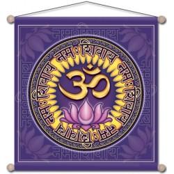 Stendardo da meditazione - Om Namo Shiva