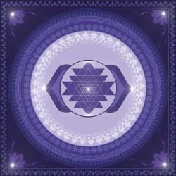 Sri Yantra Ajna 25x25 cm Forex 3 mm