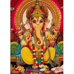 Pannello Quadro Ganesh 50x70 cm