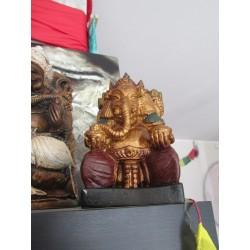 Ganesh resina cm 18 anticato