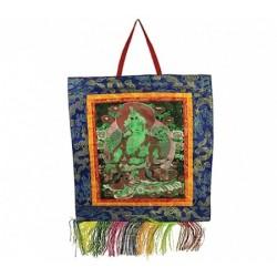 Thanka Thangka Tibet Nepal lavorato a mano