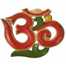 Simbolo OM legno, prodotto artigianale