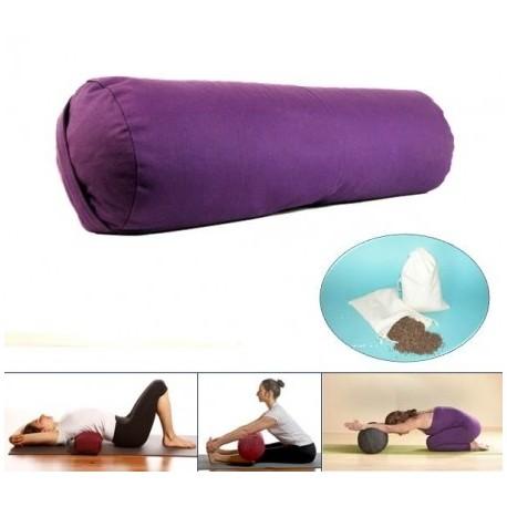Cuscino Cilindrico Per Yoga.Cuscino Da Meditazione Tracieloeterra