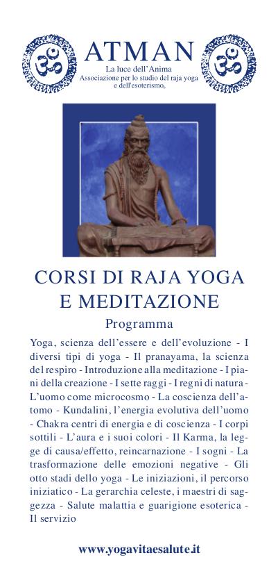Corso di Raja Yoga