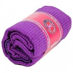 Telo yoga PVC antiscivolo viola