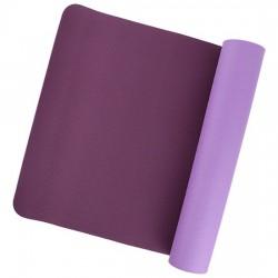 Tappetino per Yoga - Yoga & Yogini - in 100% TPE - lilla/viola