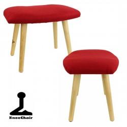 Panchetta meditazione ' Bench Flex ' - rosso - betulla