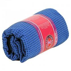 Telo yoga silicone antiscivolo azzurro
