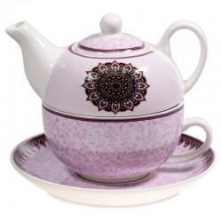 Tè per uno Mandala viola