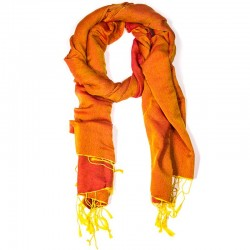 Sciarpa Chakra arancione 70x200 cm