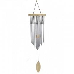 Campana a vento 22 canne metallo e legno