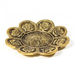 Brucia incensi 8 segni di buon auspicio oro
