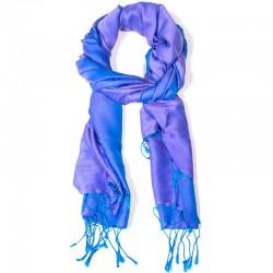 Sciarpa Chakra azzurra 70x200 cm