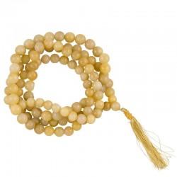 Mala Quarzo dorato 108 perle