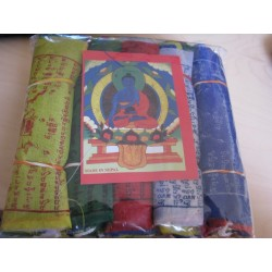 Bandierine Tibetane Piccole