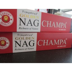 "Incensi Golden Nag Champa ""certificati naturali"""