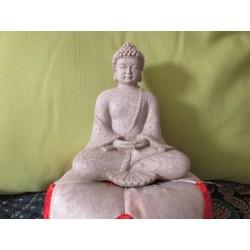 Statua Buddha seduto : statua artigianale indiana