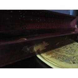 Brucia Incenso in legno artigianale con contenitore
