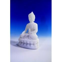Statua Buddha Dorje seduto : statua artigianale indiana