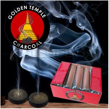 Tavolette di carboncino Golden Temple 33mm