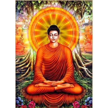 Pannello Quadro Buddha 50x70 cm