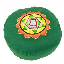 Cuscino: 4° chakra Anahata verde