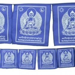 Bandiere di preghiera Buddha della Medicina